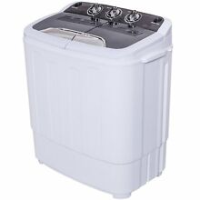Washer Spin Dry All In One Combo Compact Portable Machine RV Apartment Top Load
