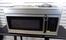 Frigidaire 1 6 Cu Ft Over The Range 1000W Microwave Stainless Steel FFMV162LMB