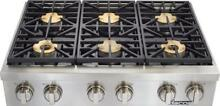 Dacor Discovery 48  6 Sealed 18K BTU Natural Gas Burner SS Rangetop DYRTP486S