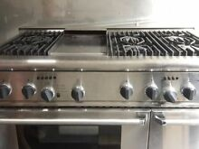 Thermador 48  Stainless Steel Range PRDS486 w  6 Burners   Griddle