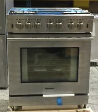 Blomberg BGRP34520SS 30 Inch Professional Gas Range