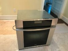 Miele Master Chef 30  single oven   stainless steel H396B  MINT CONDITION