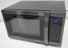 Sharp SMC1452CH Carousel 1 4 Cu  Ft  Countertop Microwave  Black Stainless Steel