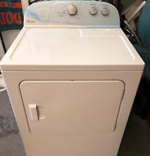 7  0 cubic feet top loading whirlpool electric dryer 7 months old model wed481ew