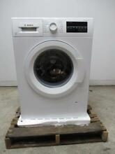 Bosch 300 Series 24  2 2 cu  ft  Capacity White Front Load Washer WAT28400UC
