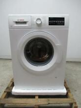 Bosch 300 Series 24  54 dBA 15 Programs White Front Load Washer WAT28400UC