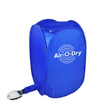 Electric Air Clothes Dryer Mini Blue Fast Drying Machine 800W Multipurpose