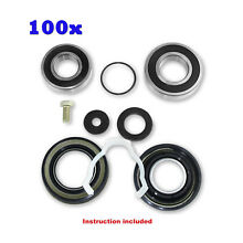Maytag Neptune Quality 100Pc Bearings   Seals Kit Fits Front Loader 12002022