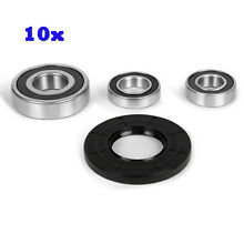 10Pcs Whirlpool Duet Washer Front Load Quality Bearing Kit W10253866  W10253856