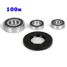 100Pcs GE Washer Front Load High Qulaity Bearing   Seal Kit W10253856  W10253866