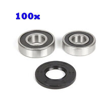 100Pc GE Washer  Front Load Bearing   Seal Kit Fit 131525500 131462800 131275200
