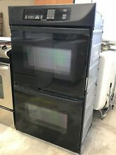 Black Kitchenaid Built In Double Wall Oven   Model   KEBI206DBL6   Local Pick Up