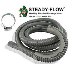 STEADY FLOW Washing Machine Discharge Hose 12ft FREE SHIPPING