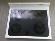 Whirlpool GE Kenmore Range Outer Main Glass Top White Part  wb62x5471