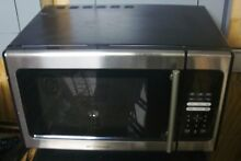 MICROWAVE OVEN 19 x 10 1 2    BARELY USED  WORKS PERFECTLY