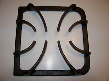 316202405 Frigidaire Square Gas Range Burner GRATE Stove Top Black Cast Iron 9x9
