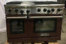 American Range 48  Pro Series Gas Range ARROB648GDN   CHOCOLATE