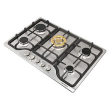 30inch Stainless Steel 5 Burner Built in Gas Cooktop Stove LPG NG Gas Hob Cooker