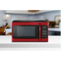 Hamilton Beach Microwave Oven Countertop Table Top 1000 Watt red 1 1