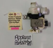 ELECTROLUX FRIGIDAIRE WASHER DRAIN PUMP PART  131268401 FREE SHIPPING  TESTED