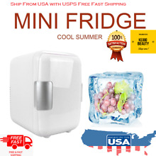 4L Car Mini Refrigerators Freezer Cooling Heating Box Fridge USA Stock