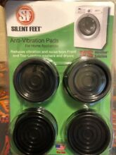 Silent Feet   Anti Vibration Pads for Washing Machines and Dryers FREE SHIPPING