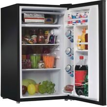 Mini Fridge with Freezer Refrigerator Dorm Room Party Cooler Small Office 3 5 Cu