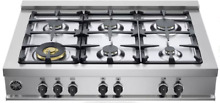 Bertazzoni CB36M600X 36 Inch Gas Rangetop Master Series with 6 Burners