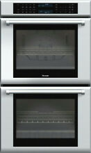 Thermador 30  13 Cooking Modes Double Electric Wall Oven Stainless ME302JP IMG