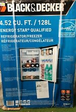 NEW in the box  black office or   college style  Black and Decker refrigerator