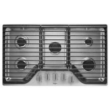 Whirlpool WCG51US6DS 36 Gas Cooktop with Multiple SpeedHeat Burners  SS