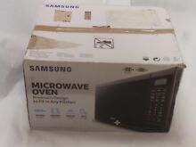 Samsung MS14K6000AG 1 4 CF 1000W Black Stainless Steel Countertop Microwave