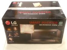 LG LMC0975ST 0 9CF Compact Size 1040W Stainless Steel Smart Inverter Microwave