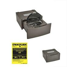 Elite Categories 51993 29  Wide Pedestal Washer In Metallic Silver  Includes And