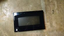 WB56X10763 Used GE Black Microwave Door JEB1860