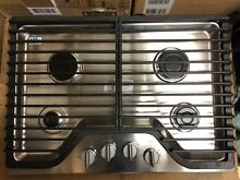 Whirlpool 30  Gas Cooktop  Stainless Steel  EXCELLENT DISPLAY MODEL WCG51US0DS00