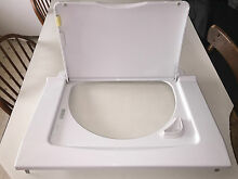 2014 GE Stack Unit Washer Cover   Top w  Lid  WH44X10282  WH44X10284