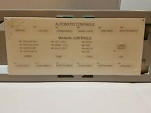 35 3474 Whirlpool OEM Genuine Control Shield 35 3473 Discontinued Hard to find