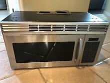 Maytag Microwave Over the range light and two speed exhaust stainless steel