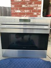 WOLF E SERIES 30  STAINLESS SINGLE WALL OVEN SO30 2U S
