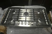 Bosch Benchmark 37  Stainless Steel 5 Burner Gas Cooktop NGMP655UC