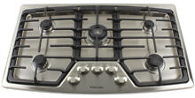 ELECTROLUX 36  Wide Gas 5 Burner Stainless Steel Cooktop  Model EW36GC55GS  NEW