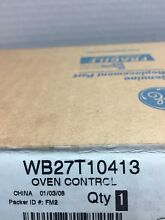 General Electric Oven Control Wb27t10413