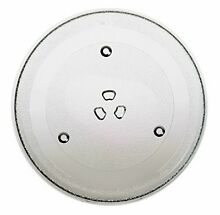 Replacement GE Part Number WB49X10224 Microwave Glass Turntable Tray 11 5  NEW
