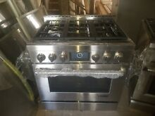 36  Gas Range  new  Jennair  Retail about  6 500  Ends 9 22 18