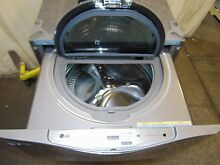 LG 1 0 Cu Ft Sidekick Washing Machine Pedestal   Washer For Under Your Washer
