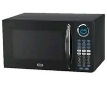 Sunbeam Microwave Oven   Black   0 9 Cu Ft  SGB8901