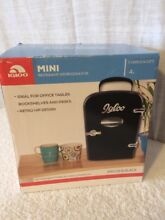 Igloo Retro Mini Beverage Fridge Black Holds 6 cans  Brand New   MIS129 B BLACK