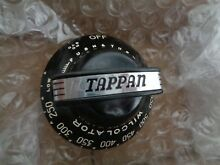 VINTAGE TAPPAN WILCOLATOR   GAS OVEN THERMOSTAT KNOB BRAND NEW