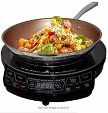 Precision NuWave Induction Cooktop Model 30121 Portable   Excellent Pre Owned